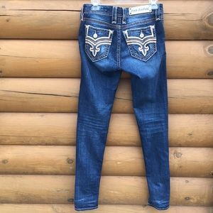 Rock revival Lila skinny